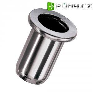 Hliníkové nýtové matice Novus, 4 x 10,5 mm, 10 ks
