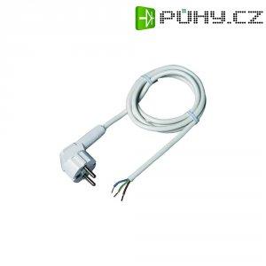 Flexokabel bílý H03VV-F 3 x 0,75 úhlový