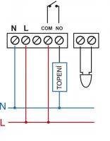 PT712-EI - Digitální termostat pro podlahové topení s externím čidlem