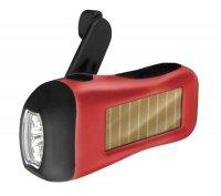 Svítilna LED ( 3x) solární/dynamo (BR-LPZ)