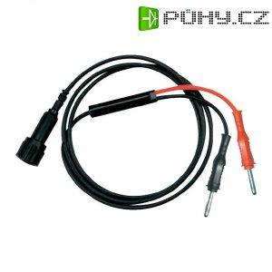 Měřicí kabel Testec 8060-50-100-S, 1 m, černá/červená