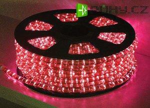 Světelná hadice žárovková 44m červená