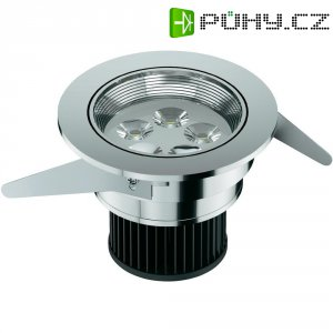 Vestavné světlo Osram IVIOS LED, 6,5 W, chrom/hliník