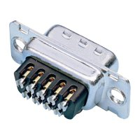 D-SUB zdířková lišta Amphenol 77D A15S ST, 15 pin