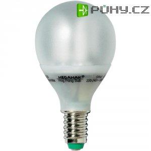 Úsporná žárovka kulatá Megaman Ping Pong E14, 5 W, teplá bílá