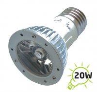 Žárovka LED E27/230V (1x) - 3W bílá