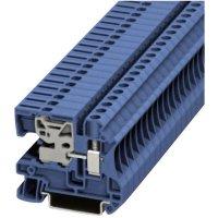 Svorkovnice Phoenix Contact UTN 6 (3245037), 55 mm, šroubovací, 8,2 mm, modrá