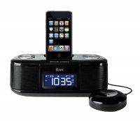 iLuv budík s hodinami a přehr. pro iPhone a iPod