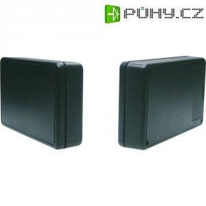 Plastové krabičky 6006 SW s bateriovou přihrádkou Strapubox, (d x š x v) 125 x 74 x 27 mm