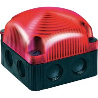 LED maják Werma Signaltechnik 853.100.55, IP66, červená