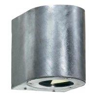 Venkovní nástěnné LED svítidlo Nordlux Canto 77571031, 2x 3 W, pozinkováno
