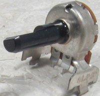 5k0/N , hřídel 6x20mm, potenciometr otočný