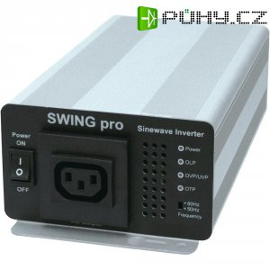 Měnič napětí DC/AC RIP Energy Swing Pro, 24V/230V, 350 W