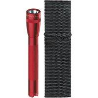Kapesní svítilna Mag-Lite Mini 2 AA, M2A03H, 3 V, kryptonová, červená
