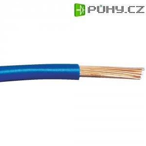 Kabel pro automotive Leoni FLRY, 1 x 0,35 mm², modrá/černá