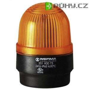 Bleskové světlo Werma, 202.300.55, 24 V/DC, 100 mA, IP65, žlutá