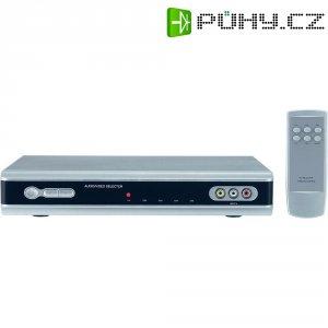 Přepínač AV-signálu s dálkovýmovladačem