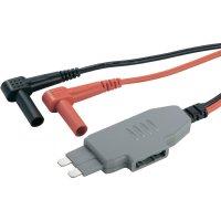 Měřicí adaptér pro ploché pojistky Voltcraft MS-4, černá/červená