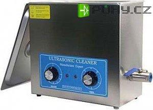 Ultrazvuková vana VGT-1860QT 6l 150W s ohřevem. Prasklina vany u měnič