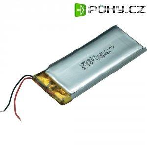 Akumulátor Li-Pol Renata, 3,7 V, 130 mAh, ICP50123PS-03