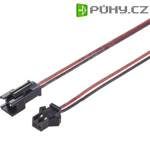 Napájecí kabel Modelcraft, Slow Flyer zásuvka a zástrčka, 0,25 mm², 1 pár