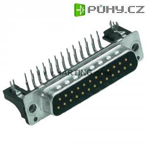 D-SUB konektor do DPS, 90 °, Harting 09 66 162 6815