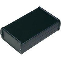 Univerzální pouzdro hliníkové TEKO TEKAM 22.9, (d x š x v) 146,46 x 88,59 x 40,48 mm, černá