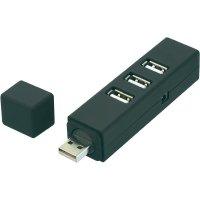 USB 2.0 hub, 4-portový, šroubovací
