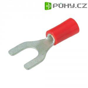Izolovaná kabelová vidlice, M4, 0.25 - 1.6 mm²