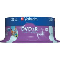 Verbatim DVD+R 4,7GB 16X 25 ks SP PRINT