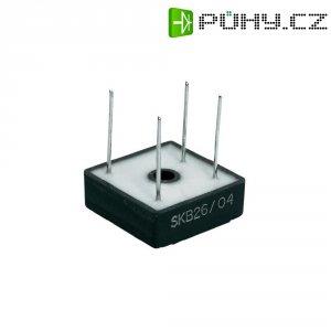 Můstkový usměrňovač Semikron SKB 26/04, U(RRM) 400 V, (volný) 3,5 A/ (montáž na šasi) 10 A
