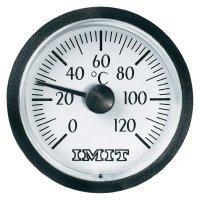 Malý teploměr s integrovanou kapilárou IMIT, 0 až 120 °C