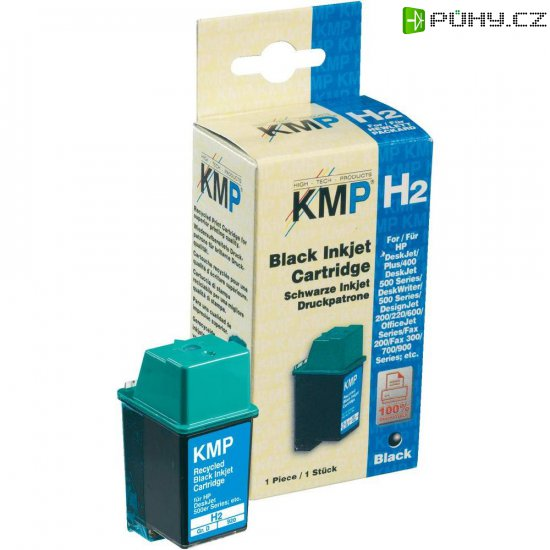 Toner inject KMP H2 = HP 51626A (26) černá - Kliknutím na obrázek zavřete