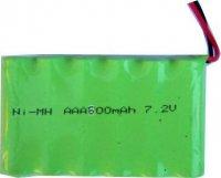 Akupack NiMH AAA 7,2V/600mAh TINKO