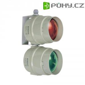 Signální osvětlení (semafor) Werma Signaltechnik 890.100.00, 12 - 240 V / AC/DC, červená