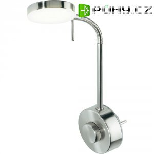 LED lampička do zásuvky, W004021, 5,2 W, nikl