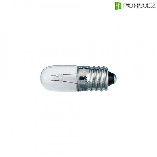 Žárovka Barthelme pro osvětlení stupnice, E10, 18 V, 1,8 W, 100 mA, čirá - Kliknutím na obrázek zavřete
