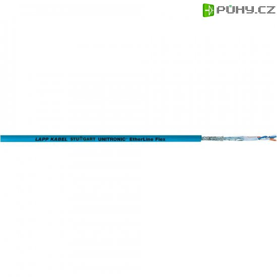 Ethernetový kabel LappKabel Unitronic, 2170299, modrá - Kliknutím na obrázek zavřete