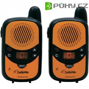 Sada vysílaček PMR DeTeWe Outdoor 2000