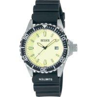 Ručičkové náramkové hodinky Eurochron Driver 9 Quartz, silikonový pásek, černá/stříbrná