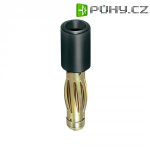 Adaptér 4/2 mm MultiContact 24.0106-21, TPE, rovný, černá
