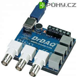 Datalogger s měřením pH a teploty, osciloskop, signálový generátor pico
