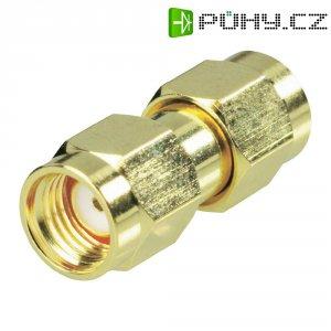 SMA Reverse zástrčka / SMA Reverse zástrčka BKL Electronic 419020, 50 Ω, adaptér rovný