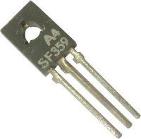 SF359 tranzistor vf NPN 300V/0,1A 1,2(6)W 60MHz TO126