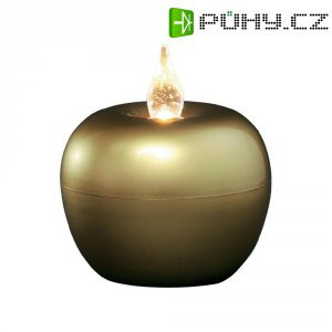 Svítící jablko LED Konstsmide, zlaté, velké