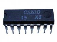 C520D A/D převodník s výstupy BCD, DIL16 =AD2020