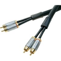 Spojovací kabel PROWIRE s konektory cinch 0,75 m