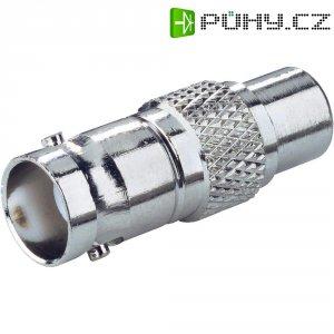 Adaptér BNC zásuvka ⇔ cinch zásuvka BKL Electronic, 50 Ω