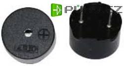 Piezoměnič, 88 dB 3 - 30 V/DC