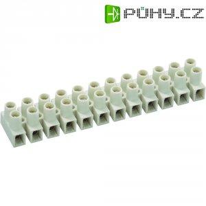 Svorka, 1,5 - 2,5 mm², 12pólová, bílá